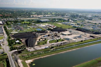 Ranger Central's West Palm Beach, FL, asphalt plant is located less than a mile from company headquarters. The division also operates plants in Ft. Pierce and Grant.