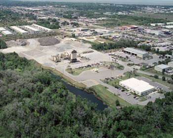Ranger North's headquarters, asphalt plant and shop in Winter Garden, FL. The division also operates a DeBary plant.
