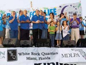 White Rock Sponsors Relay For Life