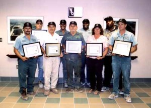 """Two Centuries"" of Safety:  20 White Rock Employees Earn 10-Year Safety Awards"