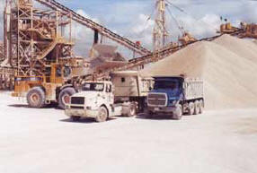 White Rock Quarries - fast loading times