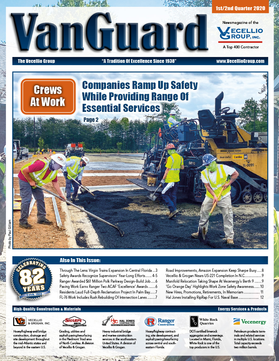 Cover of VanGuard magazine from 1st/2nd quarter 2020